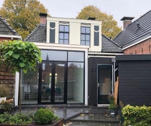 Uitbreiding woning Dokkum
